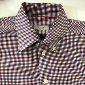 Eton Contemporary Shirt Purple - 16.5 / 42 Defect